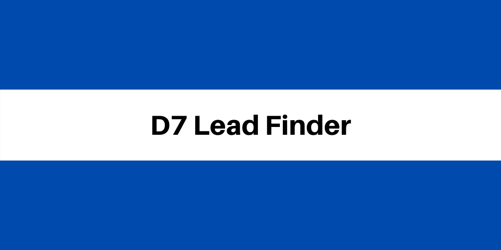 D7 Lead Finder Review: